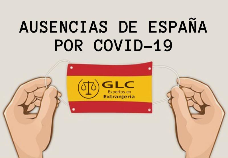 Ausencias de España por el COVID-19