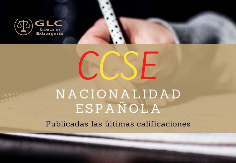 Publicadas las calificaciones de la prueba CCSE del 26 de noviembre.