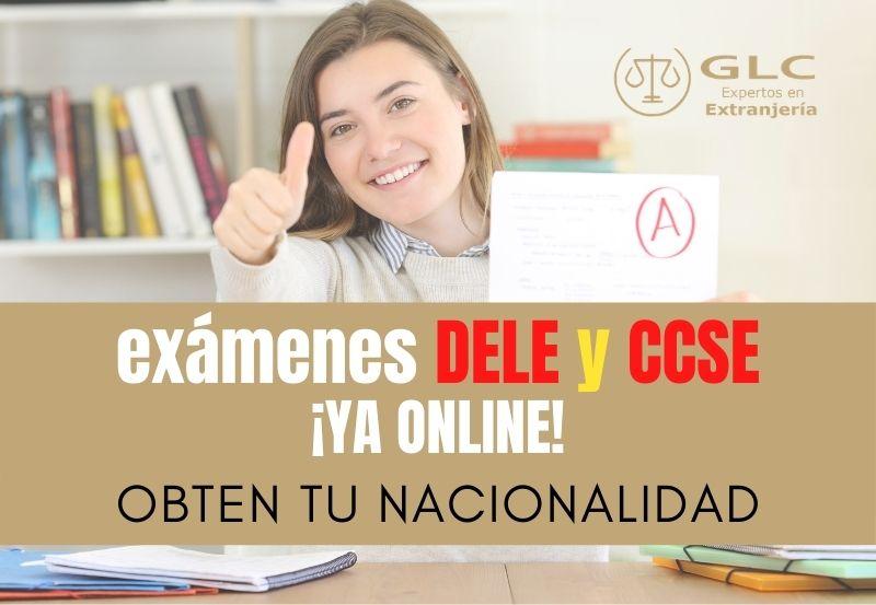 Exámenes para obtener la nacionalidad ¡ya online! (DELE y CCSE)